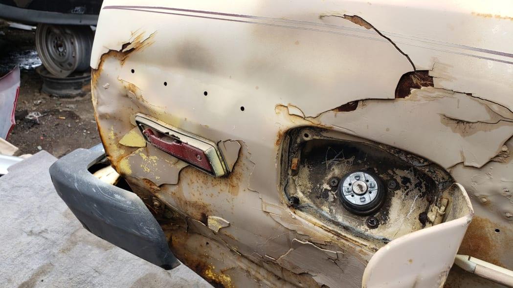 04 - 1979 Datsun 210 in Colorado junkyard - Photo by Murilee Martin