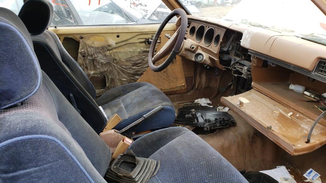 05 - 1979 Datsun 210 in Colorado junkyard - Photo by Murilee Martin