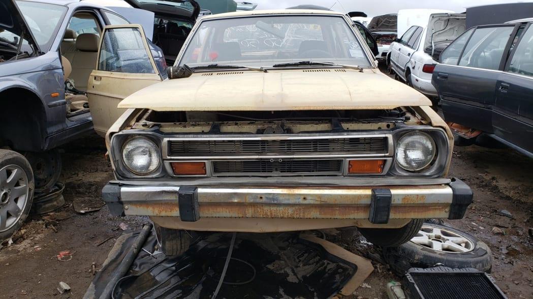 17 - 1979 Datsun 210 in Colorado junkyard - Photo by Murilee Martin