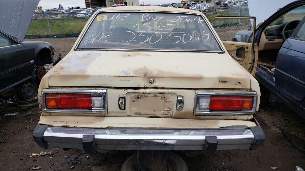 37 - 1979 Datsun 210 in Colorado junkyard - Photo by Murilee Martin