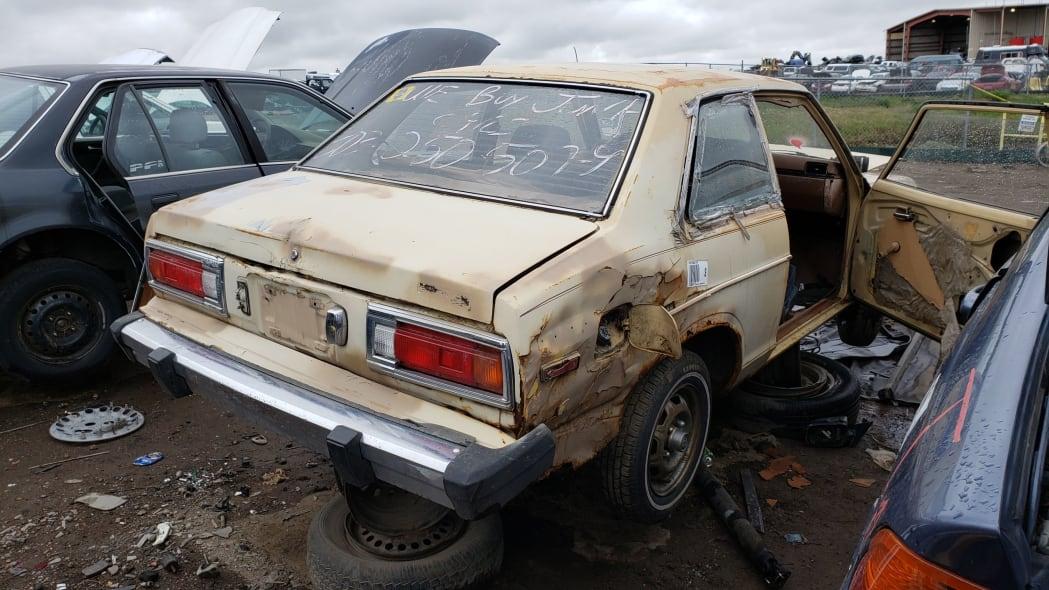 39 - 1979 Datsun 210 in Colorado junkyard - Photo by Murilee Martin
