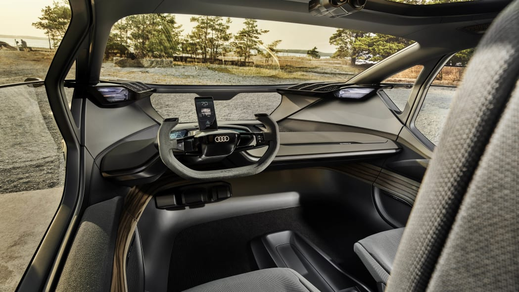 Audi AI:Trail Quattro interior