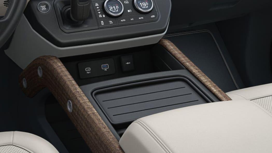 2020 Land Rover Defender 110 interior