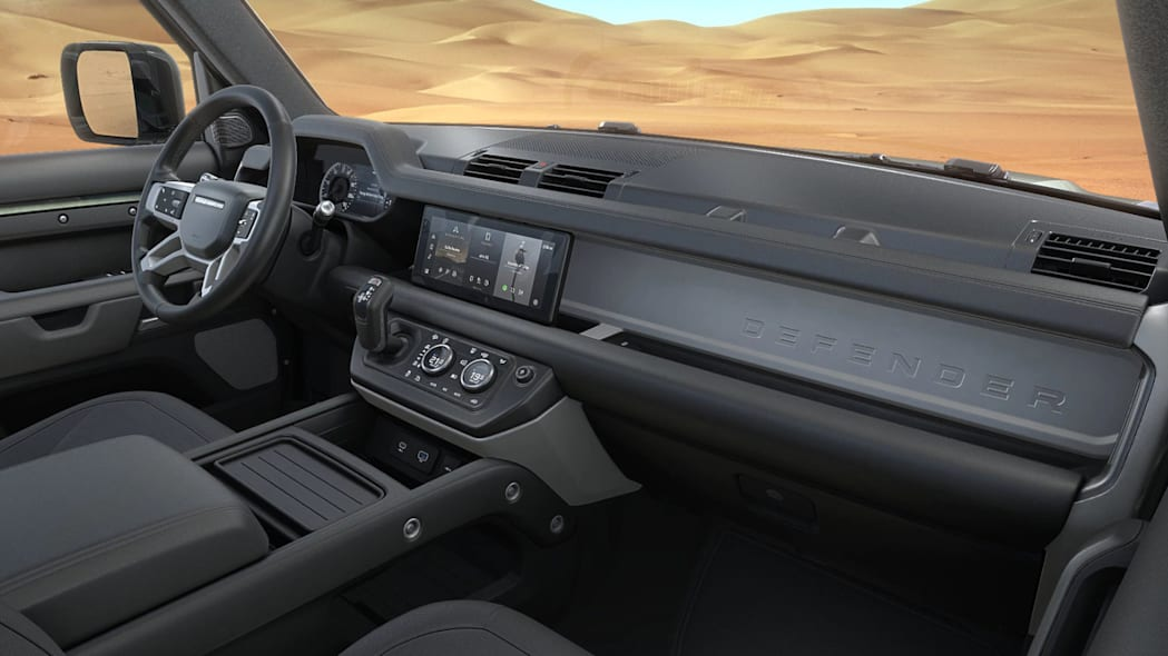 Land Rover's rock-climbing Defender will come in a PHEV version