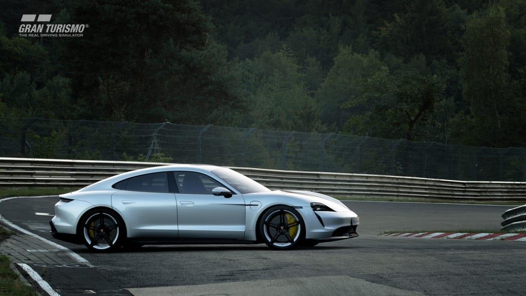 2020 Porsche Taycan Turbo S in GT Sport