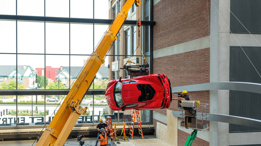 2020 Chevrolet Corvette Stingray at Little Caesars Arena