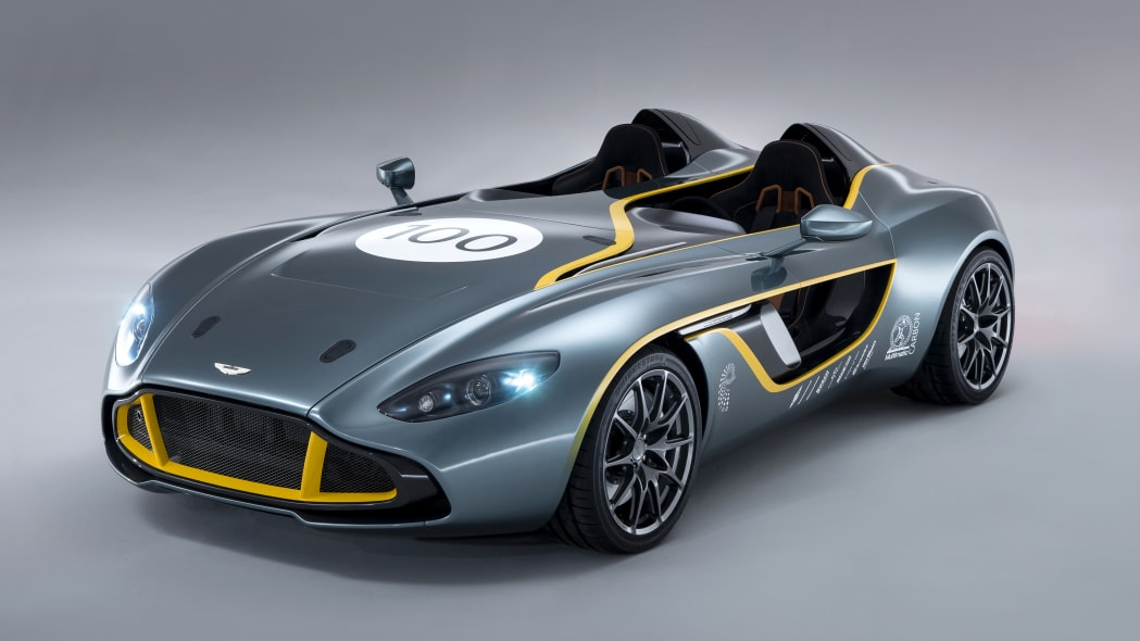 Aston Martin working on a limited-edition DBR1-inspired speedster?
