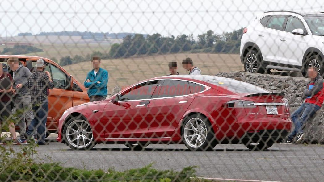 Tesla Model S Nürburgring preparation 1
