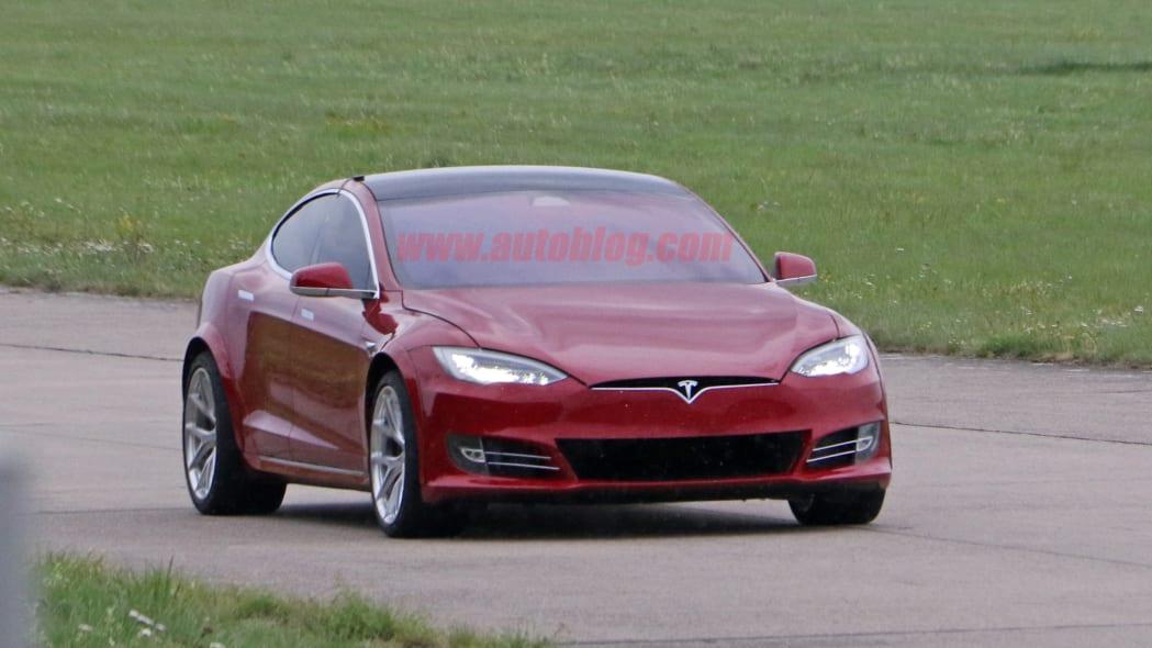 Tesla Model S Nürburgring preparation 9