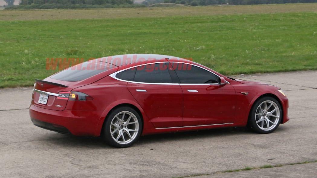 Tesla Model S Nürburgring preparation 14