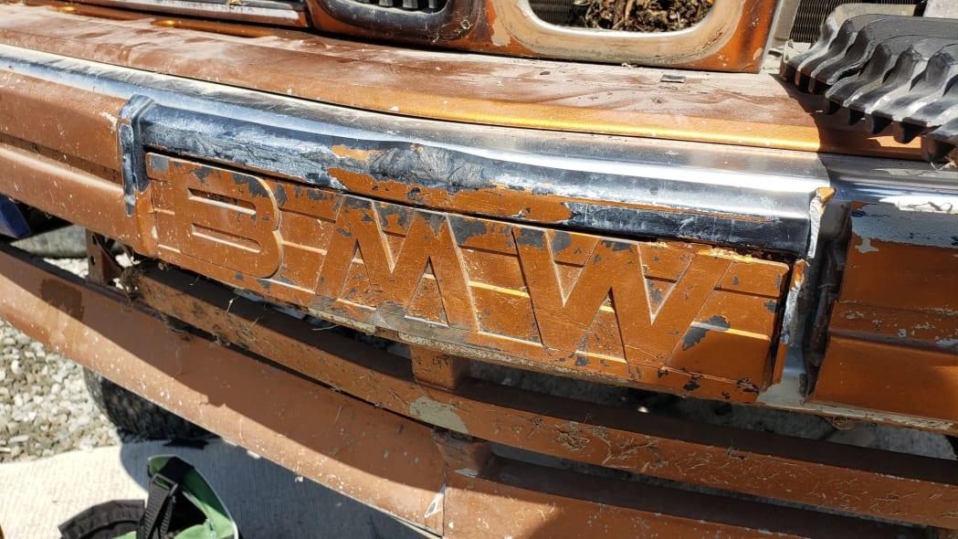 14 - 1989 BMW 635CSi in California wrecking yard - photo by Murilee Martin