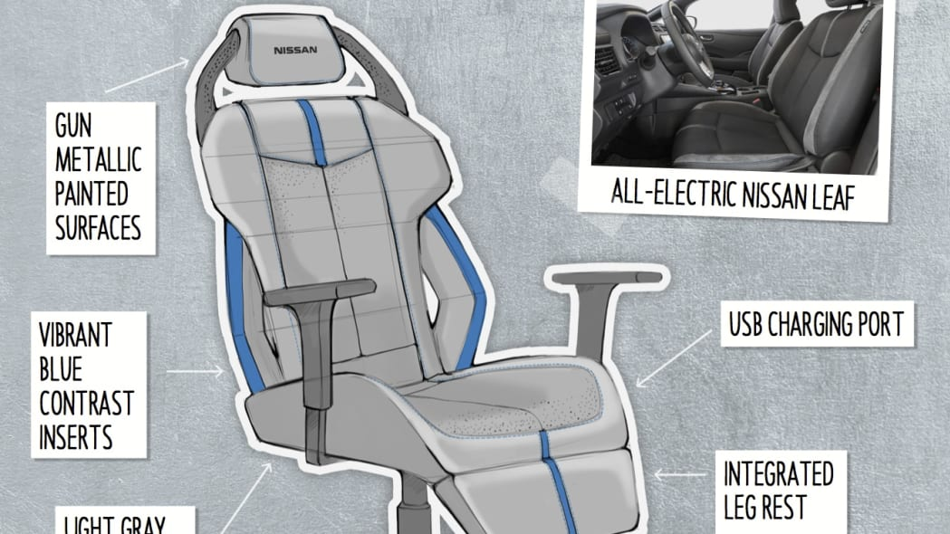Nissan Concept eSports Chairs