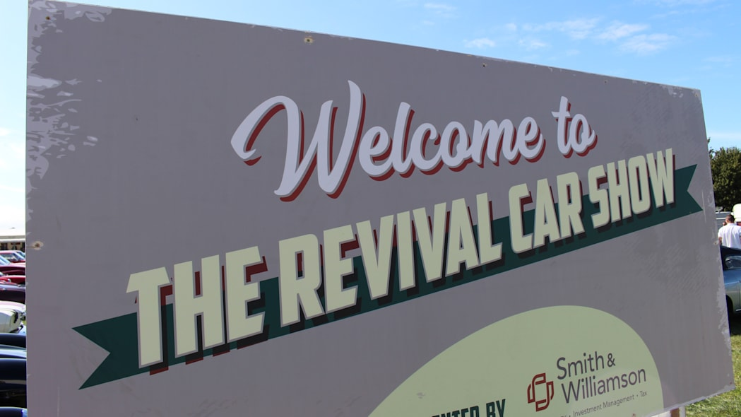 2019 Goodwood Revival parking lot