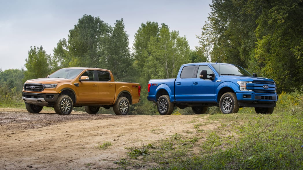 2019 Ford Ranger and F-150 get a little lift direct from Ford Performance