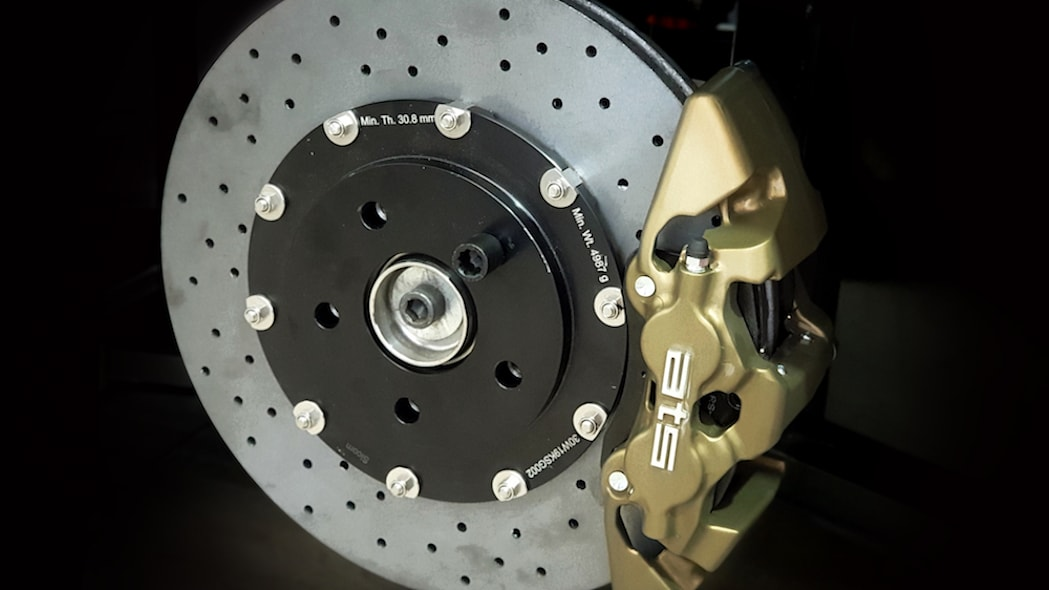 ATS CORSA RR TURBO_BRAKES -CALIPERS_FRONT