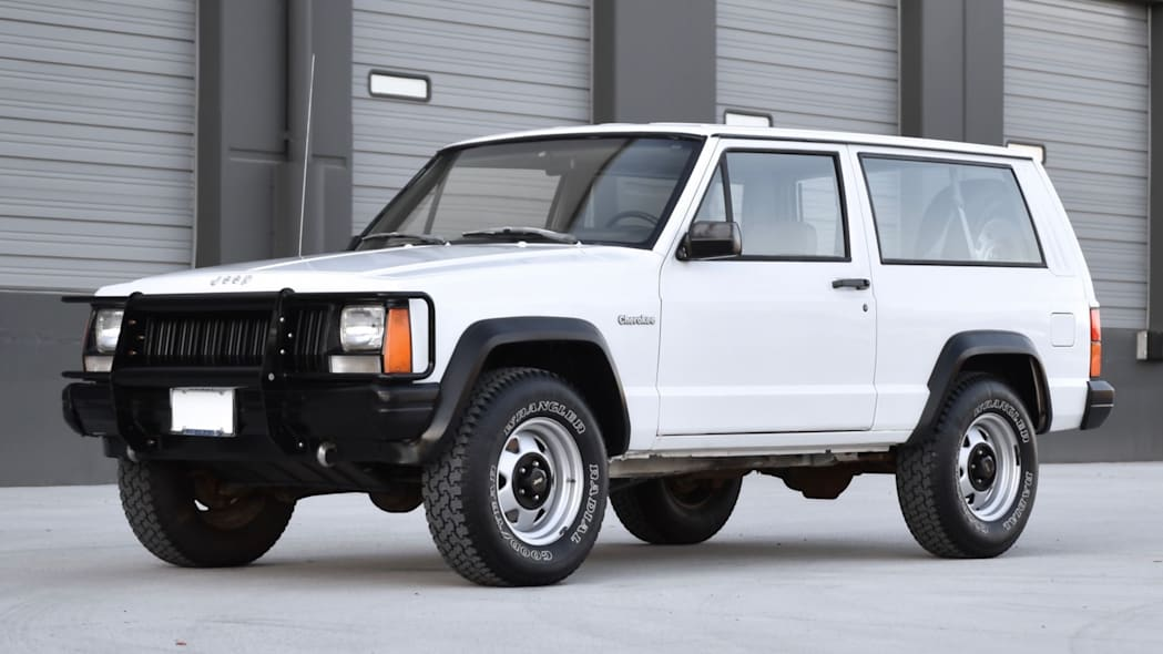 This '93 Jeep Cherokee has two doors, five speeds and a whole lot of awesome