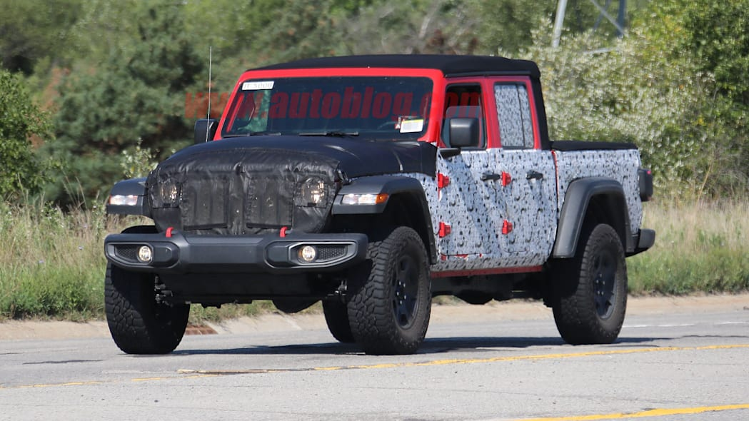Is this a V8-powered Jeep Gladiator?