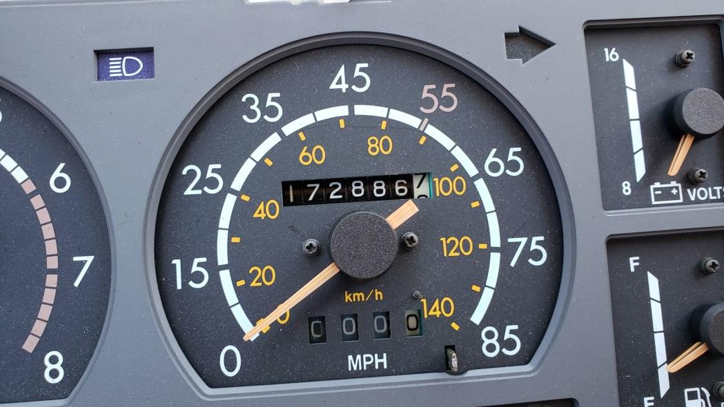 09 - 1982 Toyota Cressida in California wrecking yard - photo by Murilee Martin