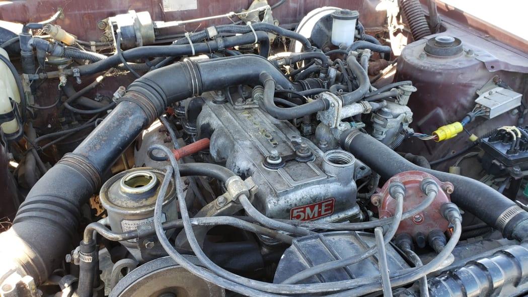 15 - 1982 Toyota Cressida in California wrecking yard - photo by Murilee Martin