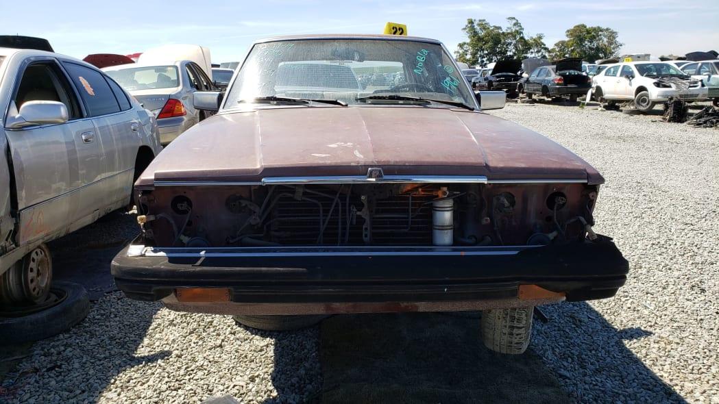 35 - 1982 Toyota Cressida in California wrecking yard - photo by Murilee Martin