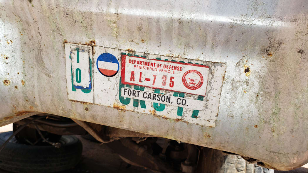 41 - 1971 Chevrolet Impala in Colorado wrecking yard - photo by Murilee Martin