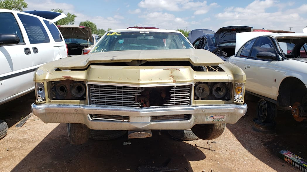 43 - 1971 Chevrolet Impala in Colorado wrecking yard - photo by Murilee Martin