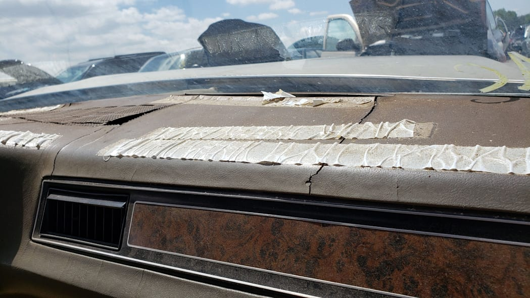 49 - 1971 Chevrolet Impala in Colorado wrecking yard - photo by Murilee Martin