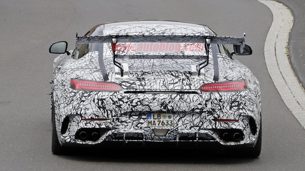 Mercedes-AMG GT R Black Series in camouflage