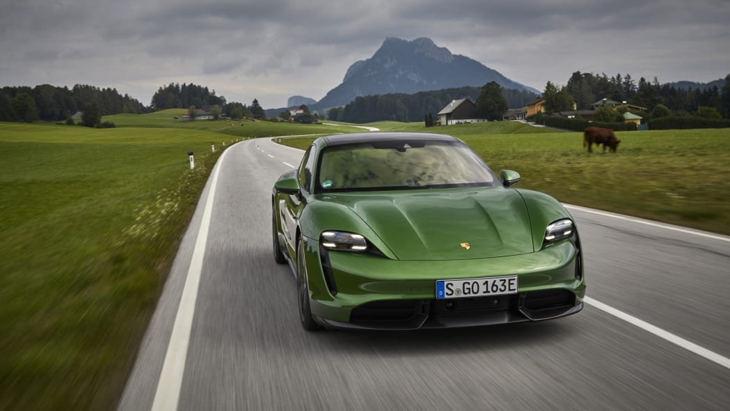 2020 Porsche Taycan First Drive Review | Way more than 'Wooo!' at 167 mph