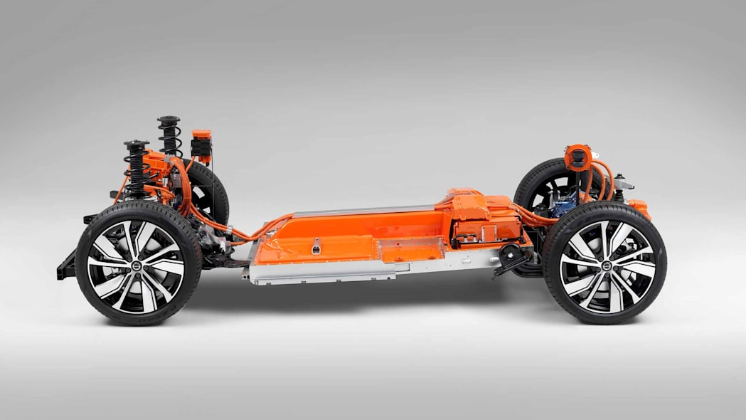The fully electric XC40 SUV – Volvo's first electric car and