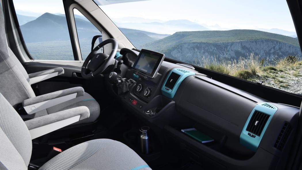 Peugeot Boxer 4x4 concept van
