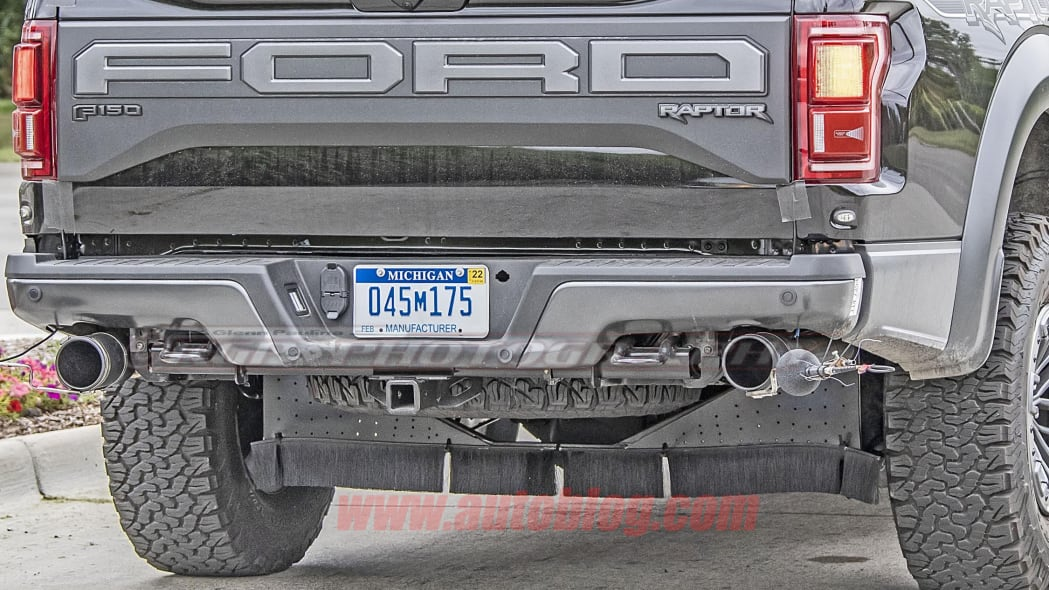 Next-generation Ford F-150 Raptor with coil suspension