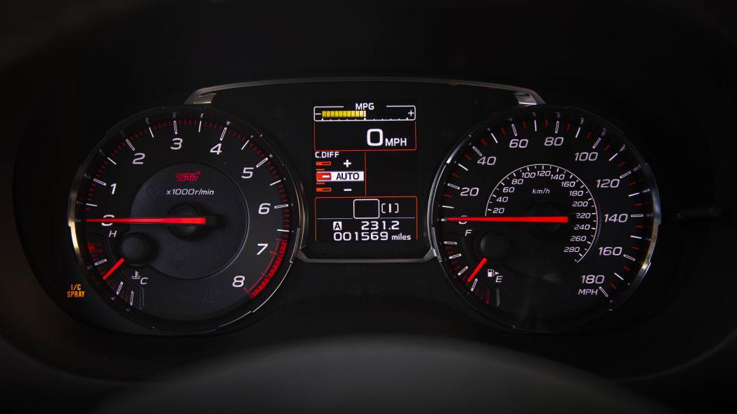 2020 Subaru WRX STI S209 interior