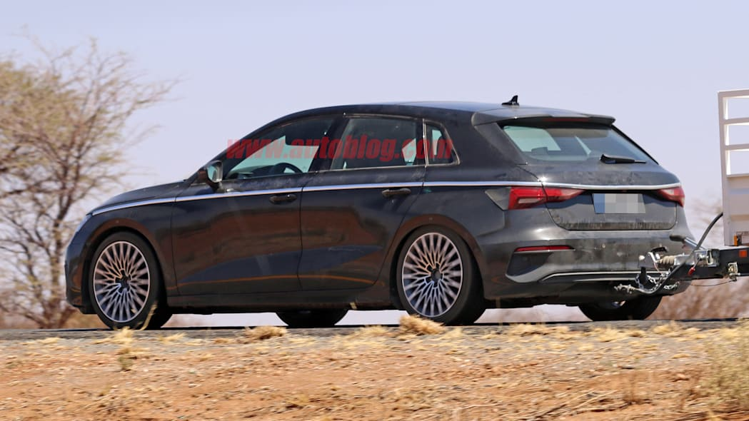 2021 Audi A3 hatchback prototype without camouflage