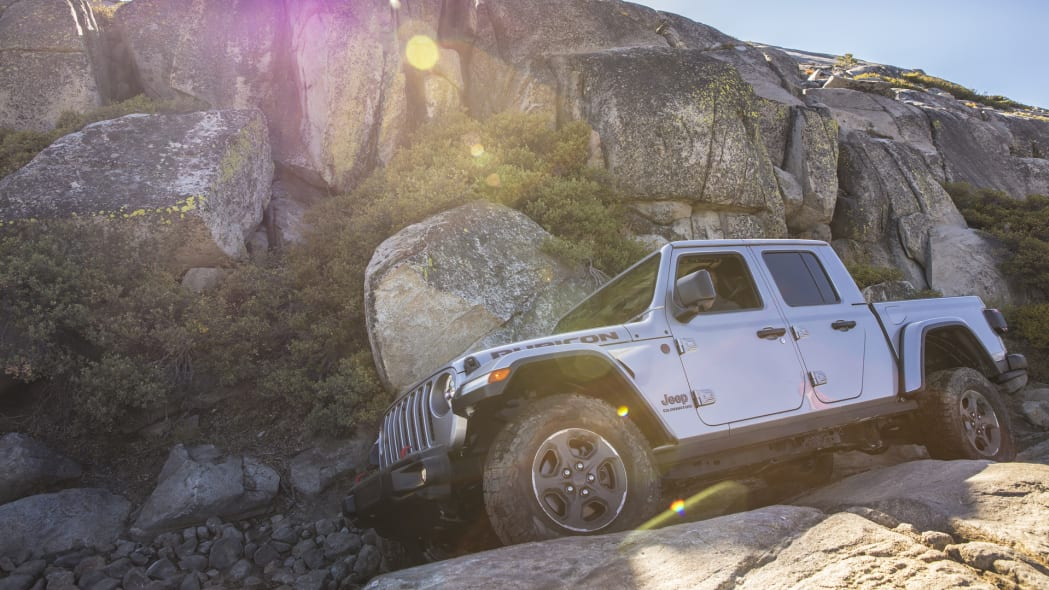 2020 Jeep® Gladiator Rubicon on the Rubicon Trail