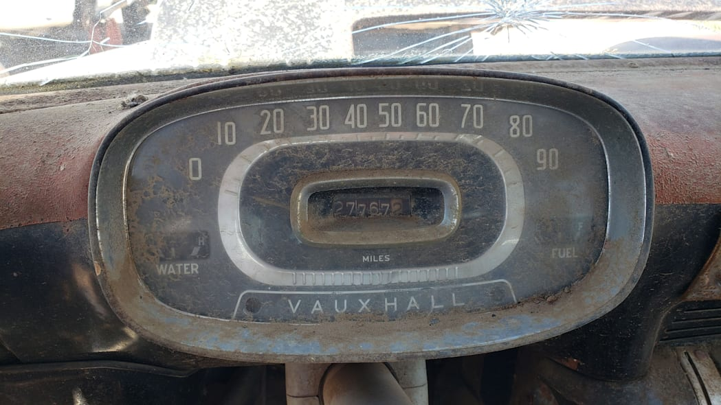 09 - 1958 Vauxhall Victor Super Estate in Colorado wrecking yard - photo by Murilee Martin