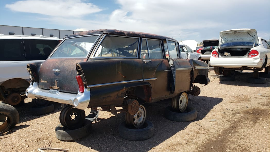 45 - 1958 Vauxhall Victor Super Estate in Colorado wrecking yard - photo by Murilee Martin