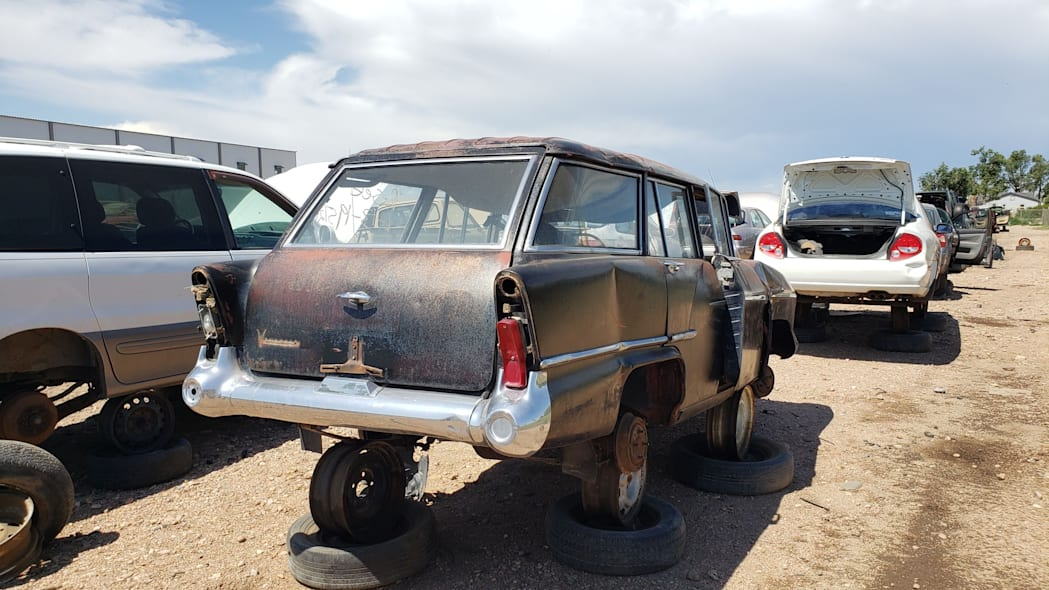 47 - 1958 Vauxhall Victor Super Estate in Colorado wrecking yard - photo by Murilee Martin