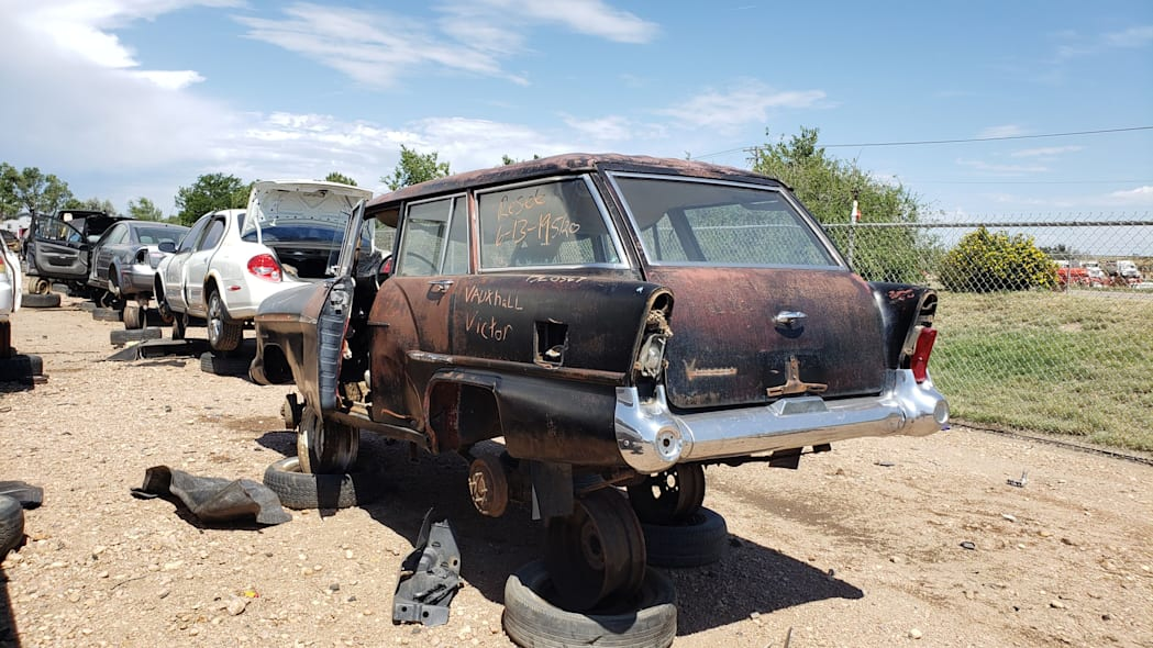 51 - 1958 Vauxhall Victor Super Estate in Colorado wrecking yard - photo by Murilee Martin