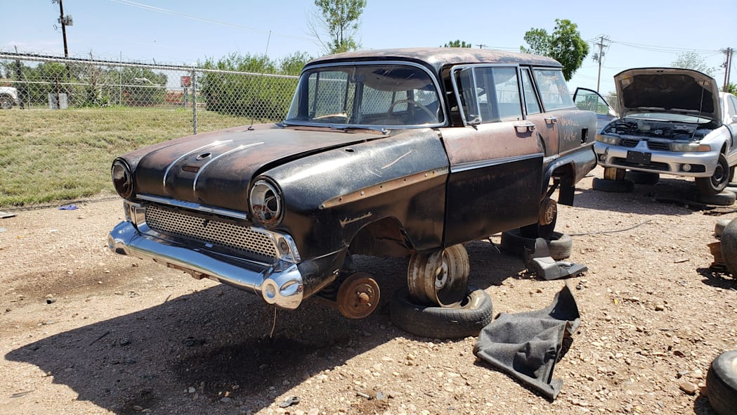 55 - 1958 Vauxhall Victor Super Estate in Colorado wrecking yard - photo by Murilee Martin