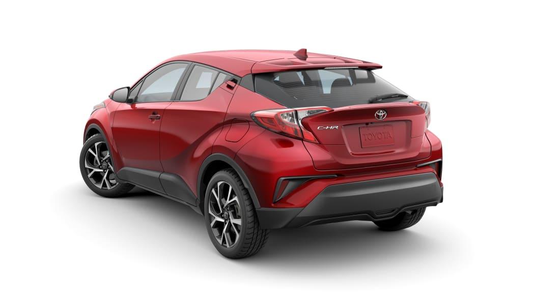 2020 Toyota CHR rear