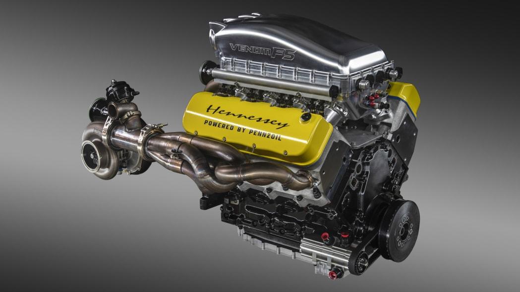 Fury, the Hennessey Venom F5 engine