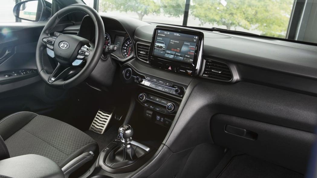 2020 Hyundai Veloster N interior