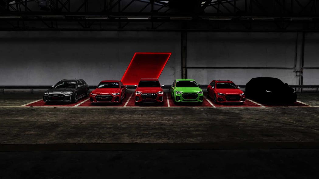 Audi Sport GmbH will be presenting six new models by the end of