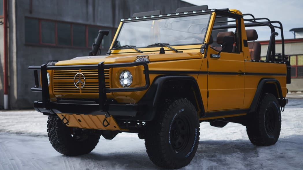 This outfitter is doing brilliant restorations of Mercedes-Benz Wolf G-Wagens