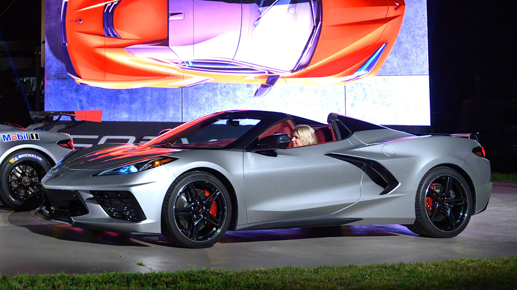 The 2020 Chevrolet Corvette Stingray convertible