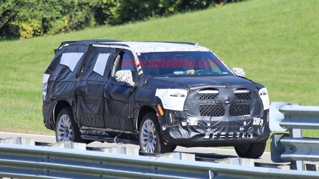Cadillac Escalade spied