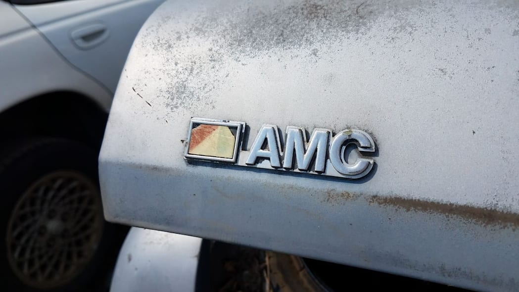 05 - 1980 AMC Concord in Colorado wrecking yard - photo by Murilee Martin