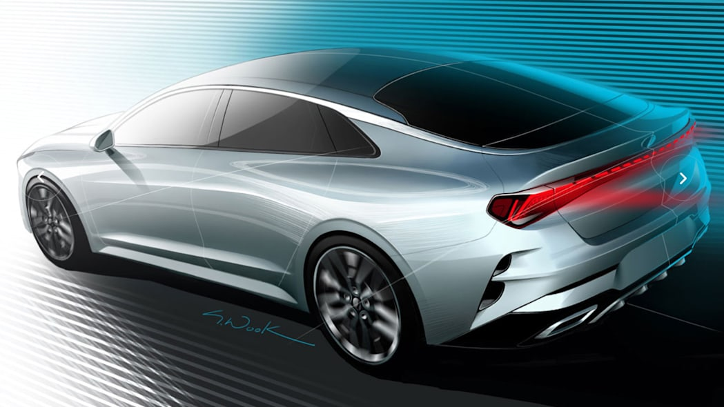 Kia teases K5/Optima again, in two different ways
