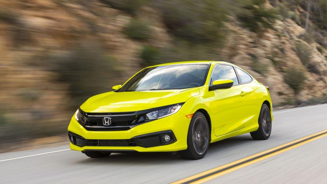 2020 Honda Civic Coupe Sport